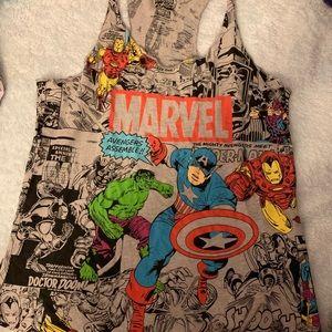 Marvel comic tank